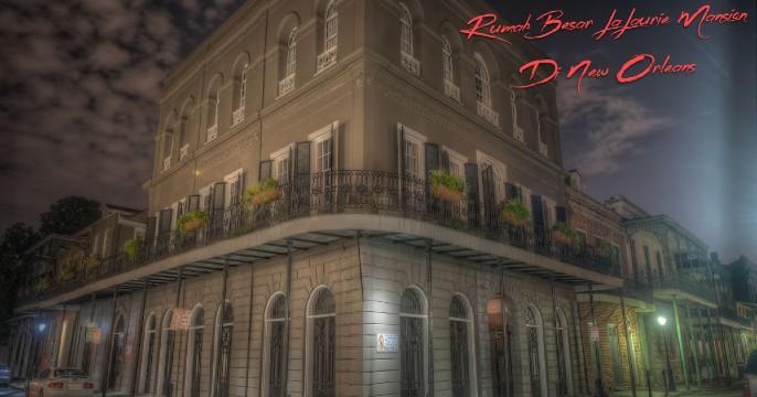 Rumah Besar LaLaurie Mansion Di New Orleans
